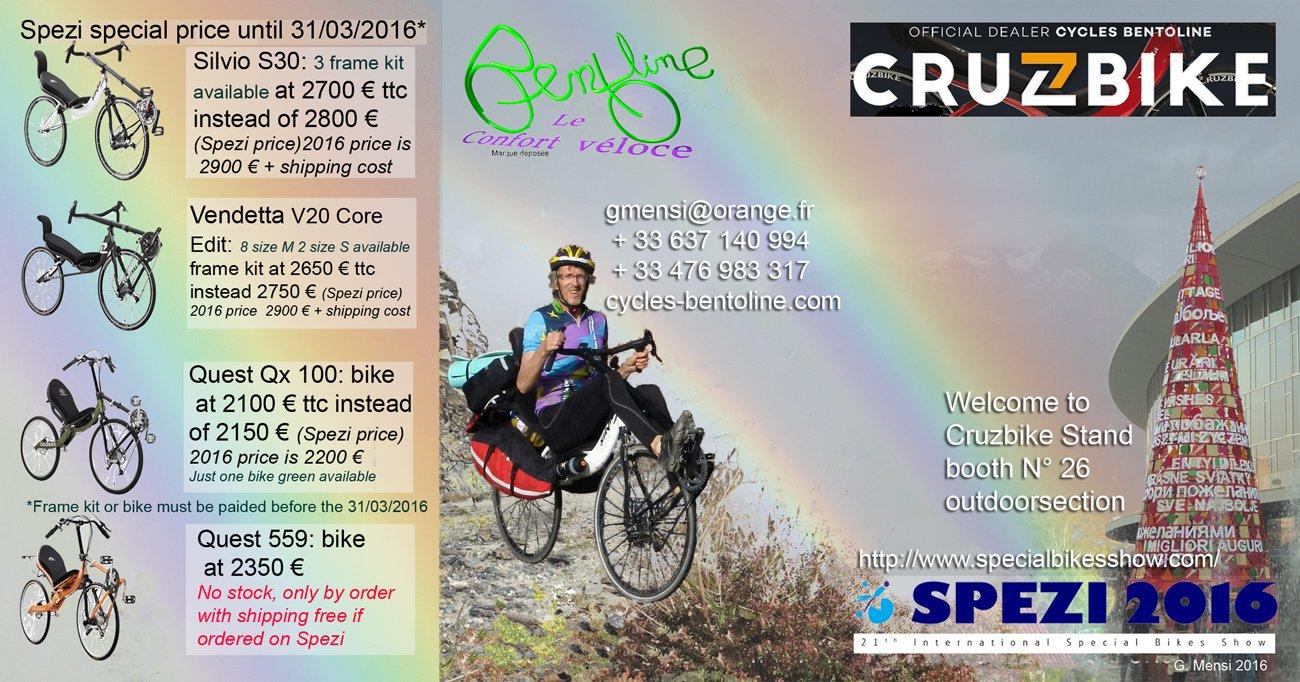 Cycles Bentoline sera à Germersheim les 23 et 24 avril 2016