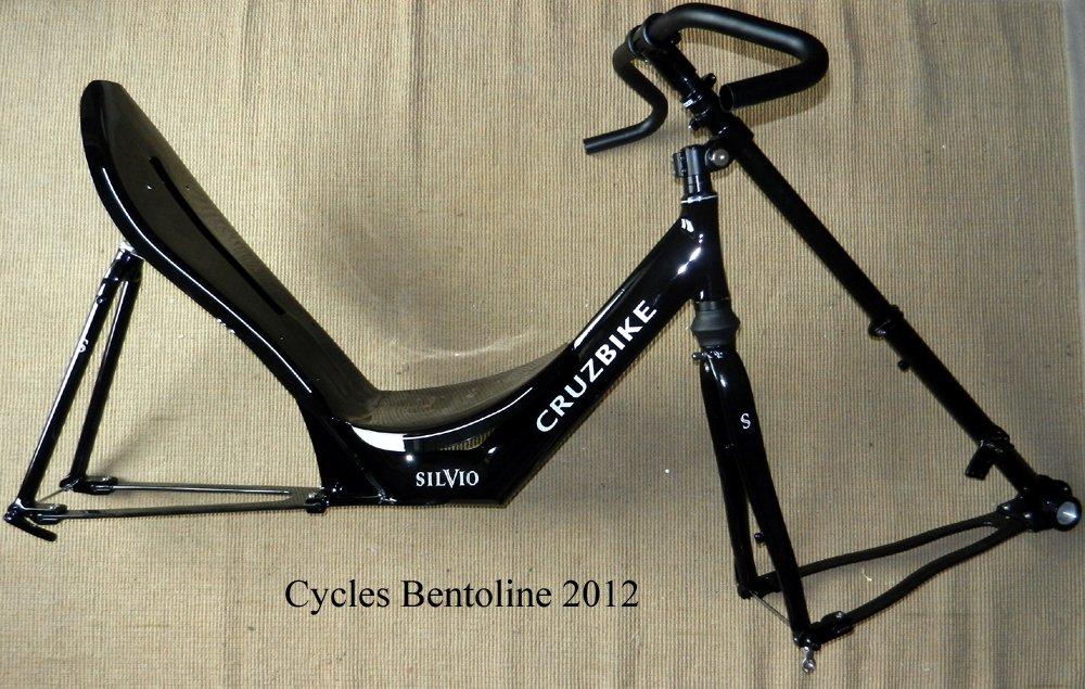 Vélo couché à traction directe en kit cadre : le Silvio de CRUZBIKE