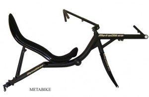 Kit cadre vélo couché High racer : le Metaphysic