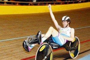 Record de l'heure 2012 en vélo couché non caréné : 56,597 km