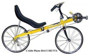 Vélo couché Corsa, marque BACCHETTA
