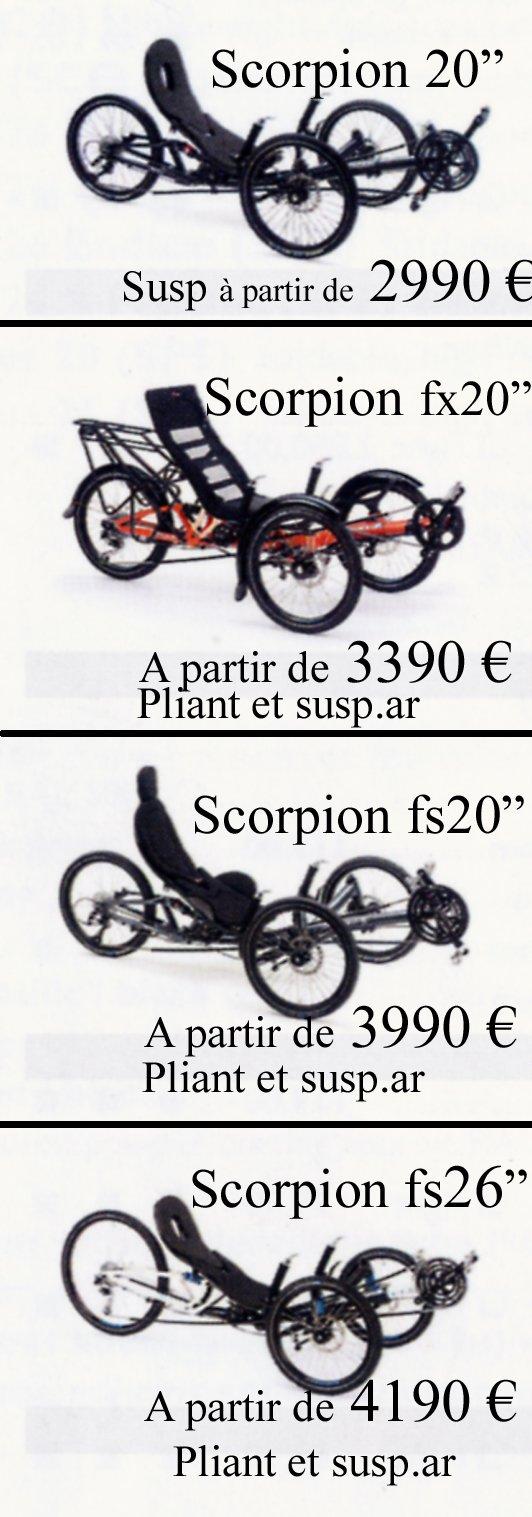Gamme 2 Scorpions 2016