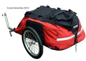 Remorque bagagère idéale pour vélos couchés et tricycles