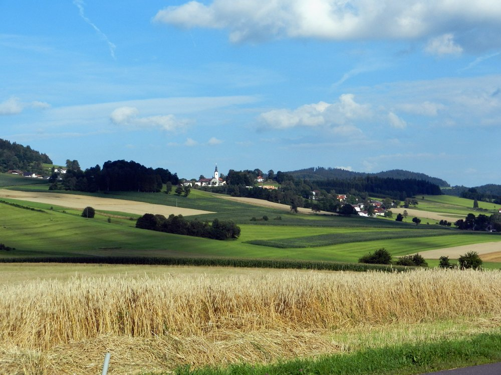Villages perchés de la Bömerwald en Autriche