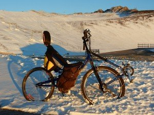 Devant Le Glacier de Mont de Lans : 3160 m