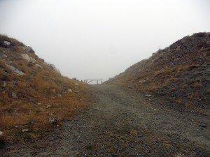 Avant dernière étape sous la pluie...