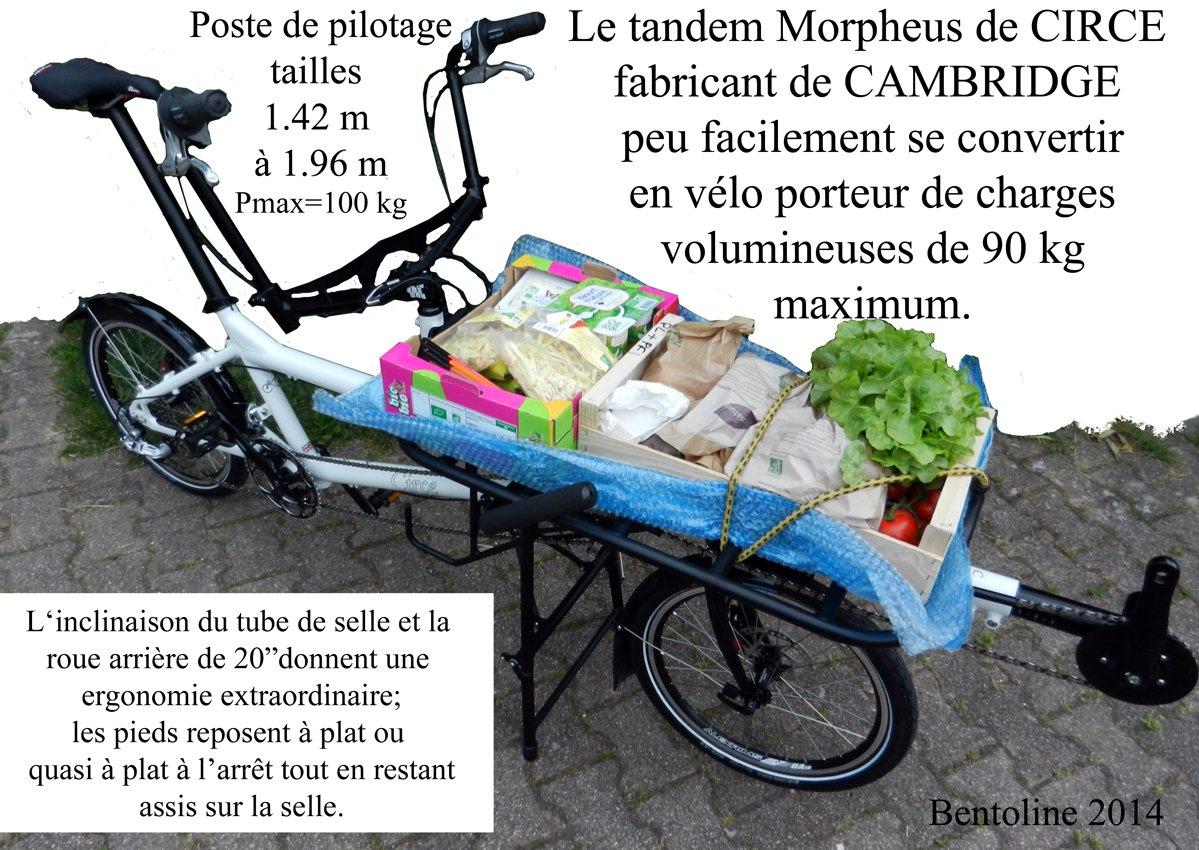 Morpheus avec porte bagage grands volumes