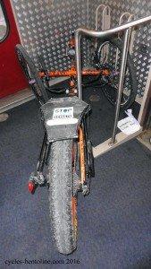 Un espace vélo des plus réduit!