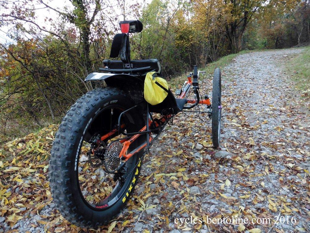 Un pneu Minion Maxxis de 4.8 pouces pour l'Automne et l'hiver