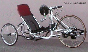 Handbike de performance LIGHTNING