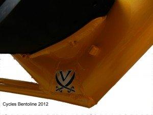 Traction directe Vendetta 2012 plus de rigidité au-dessous du siège