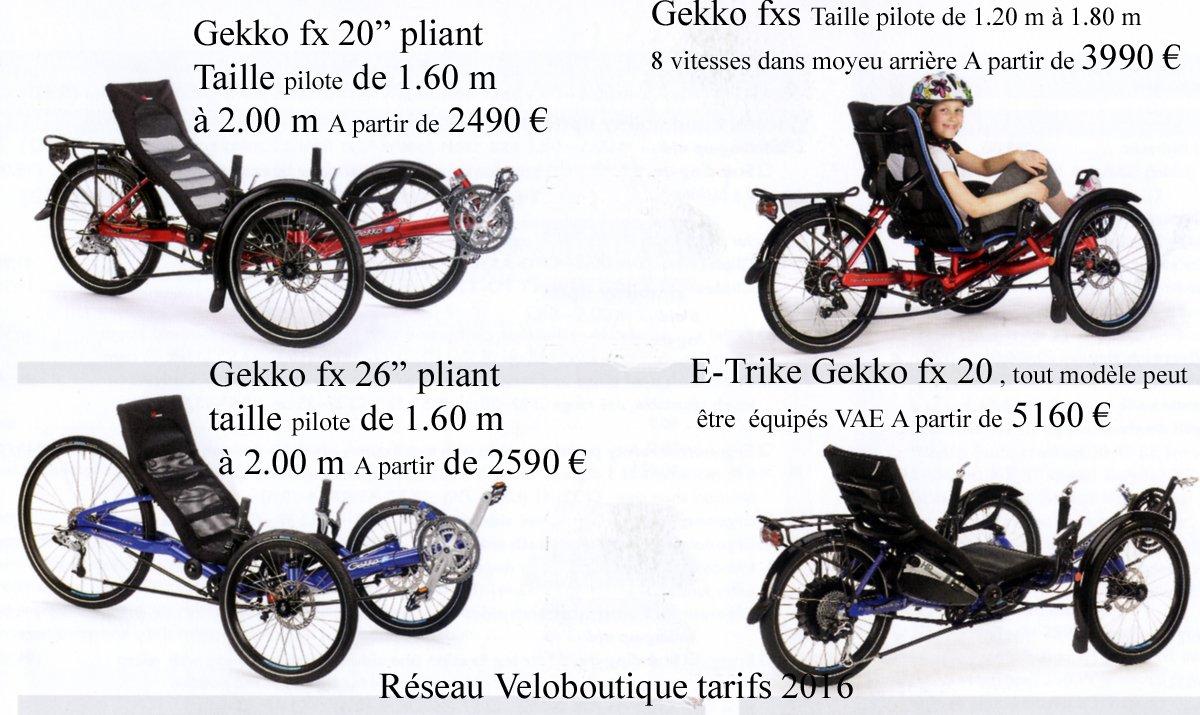 La gamme Gekko s'étoffe en 2016