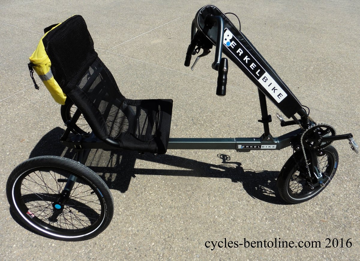 Tricycle idéal pour la rééducation des jambes affaiblies